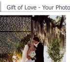Gift of Love - Your Photo Ketubah - Anniversary Gift.