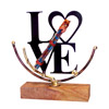 Large Love Shards Sculpture rosenthal by Gary Rosenthal