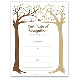 Recognition Jewish Life Cycle Certificate