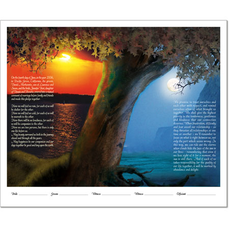 Your Photo Ketubah Example 4