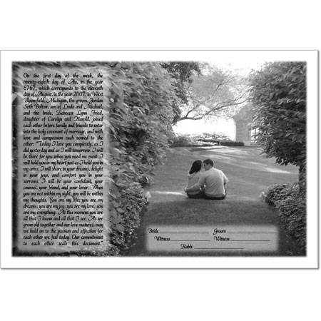 Your Photo Ketubah Example 22
