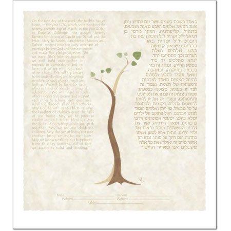 A New Beginning IV  Ketubah by Micah Parker