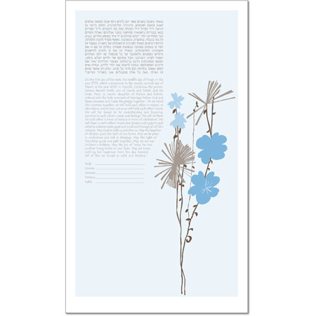 For You I  Ketubah by Victoria Corbett