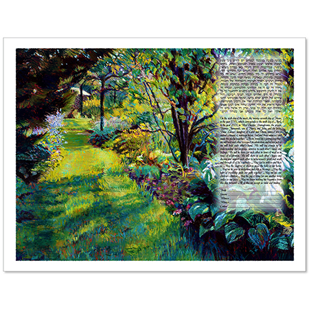 Garden of Dreams  Ketubah by Jessica Fine